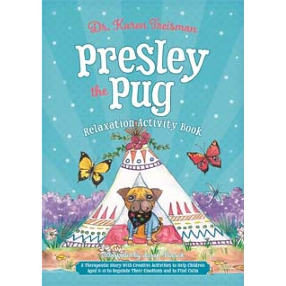 Presley the Pug Relaxation Activity Book
